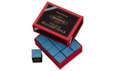 Billiard Chalk-12 piece, Blue